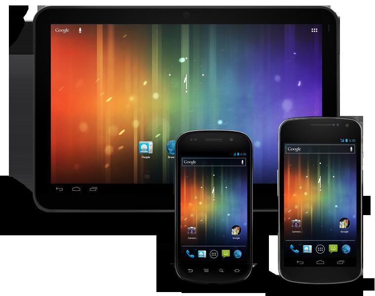 nouveau design android