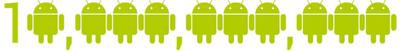 plusieurs logo android