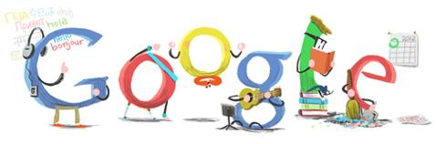 google doodle pour annee 2012