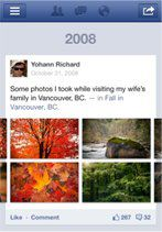 screenshot nouvelle application facebook 5