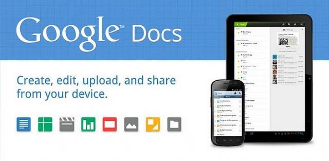 Google Docs pour Android