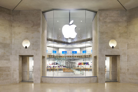 apple store du louvre