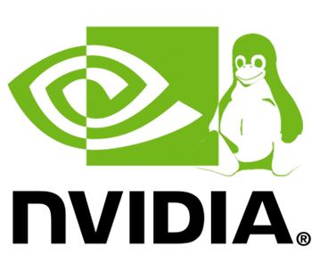 nvidia with linux icon