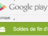 Les soldes de la rentrée, c'est aujourd'hui sur Google Play