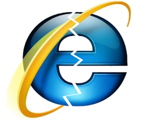 internet explorer cassé
